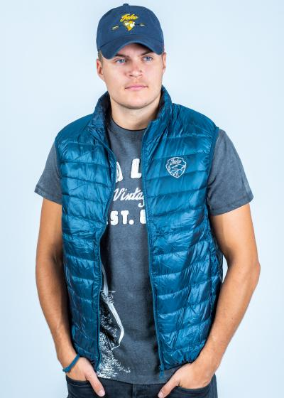 Falco Vest Men Blue