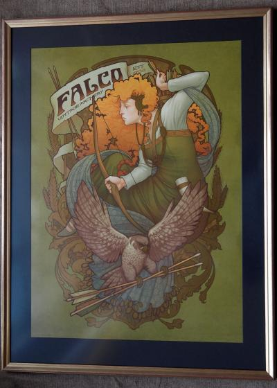Falco limited edition poster