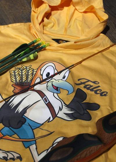 Falco kids hooded T-shirt